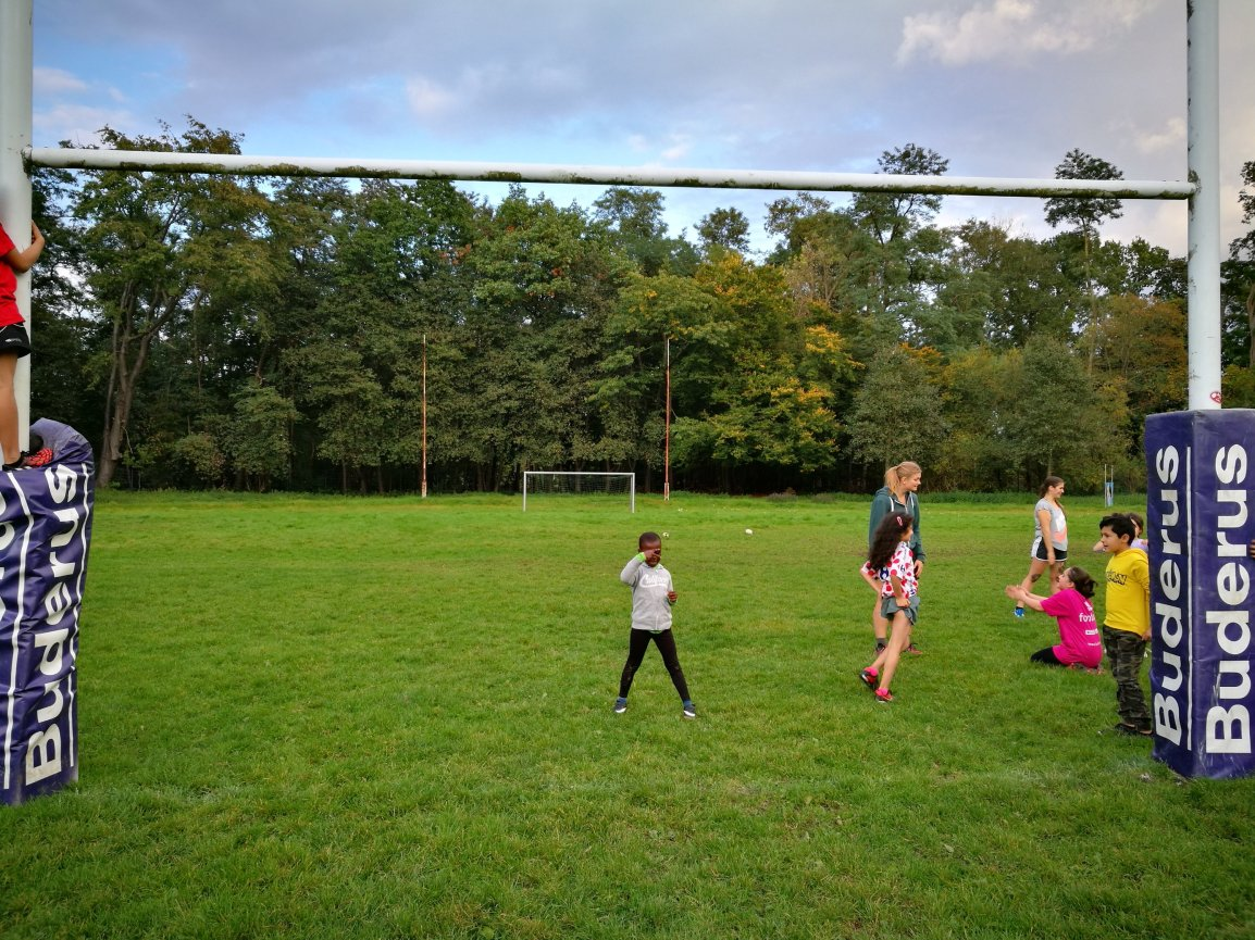 Zirkusreife Vorstellung bei RugbyUnited