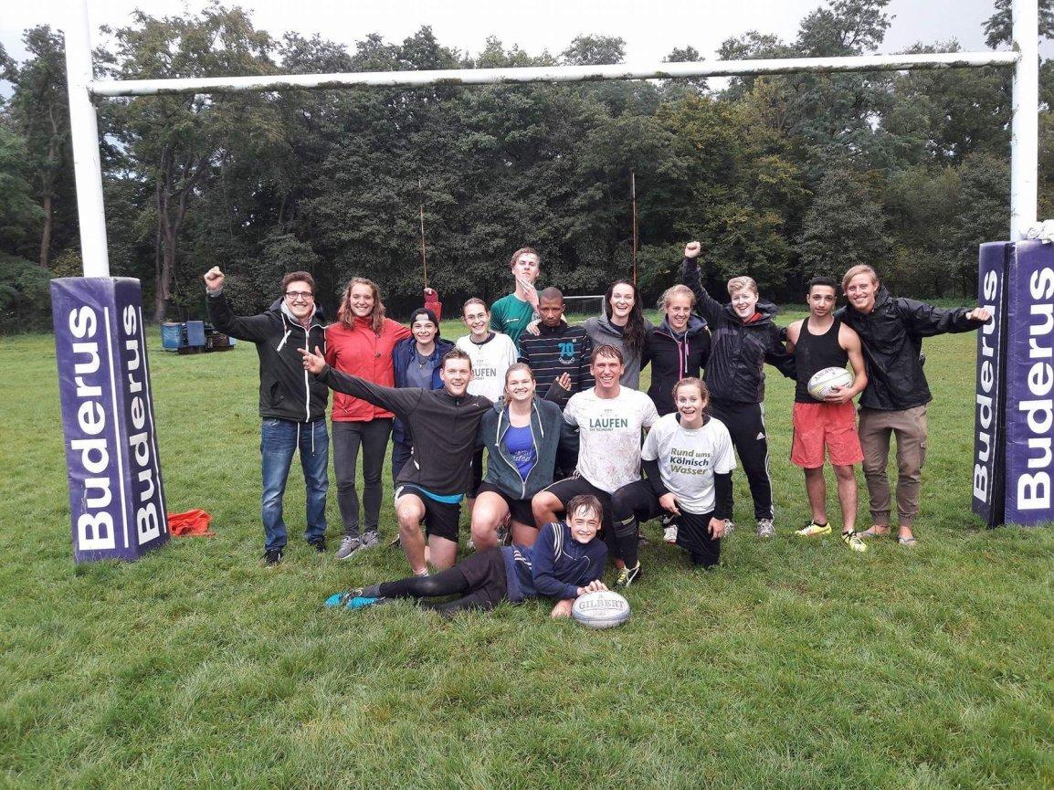 Grenzenlos in Bewegung zu Gast bei RugbyUnited