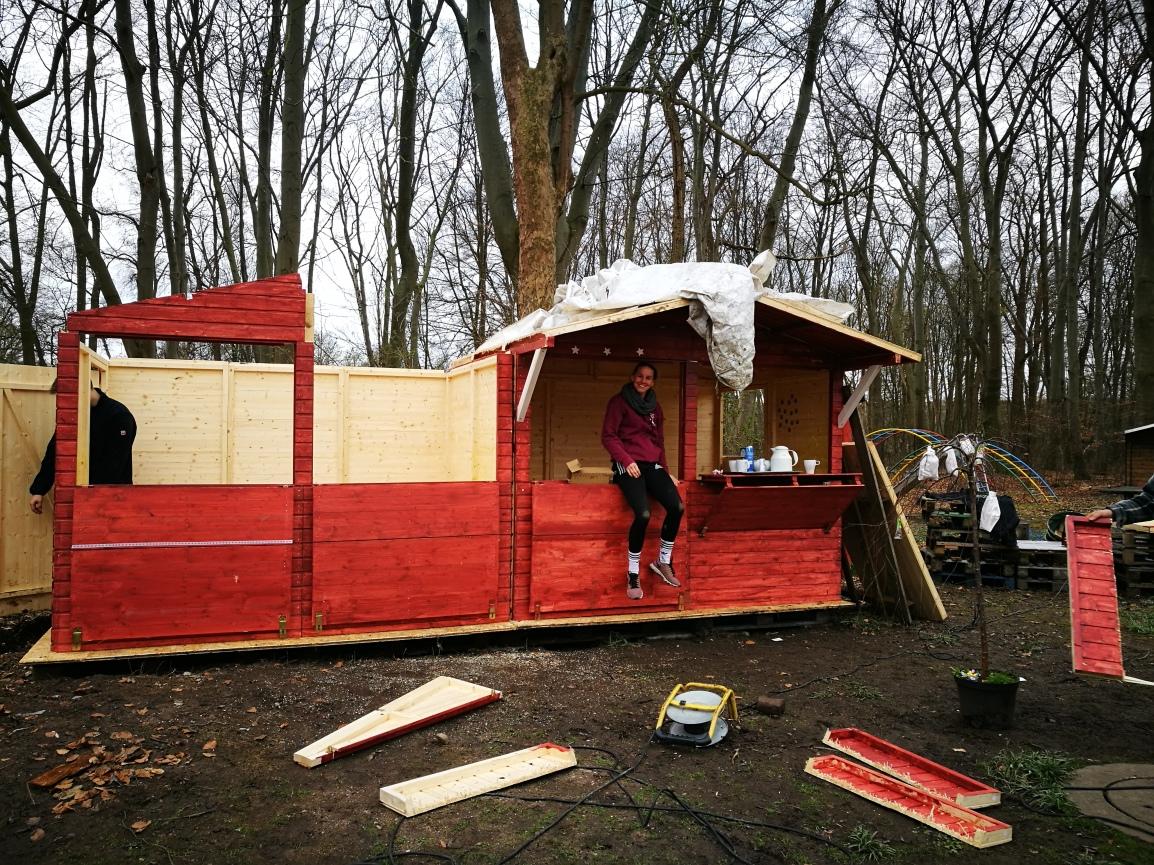 Lönneberga und Skrolan – Zwei schwedische Hütten inKölle